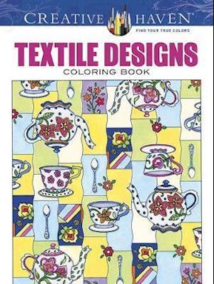 Creative Haven Textile Designs Coloring Book af Marjorie Sarnat