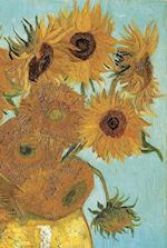 Van Gogh's Sunflowers Notebook