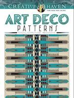 Creative Haven Art Deco Patterns Coloring Book (Adult Coloring)