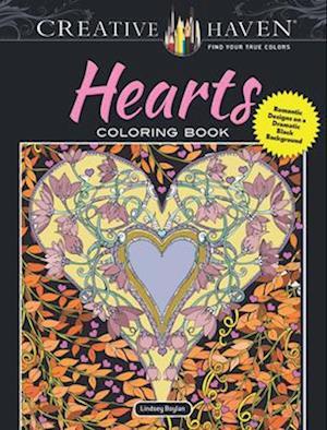 Bog, paperback Creative Haven Hearts Coloring Book af Lindsey Boylan