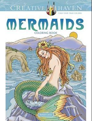 Bog, paperback Creative Haven Mermaids Coloring Book af Barbara Lanza