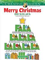 Creative Haven Merry Christmas Designs Coloring Book (Adult Coloring)