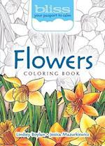 Bliss Flowers Coloring Book af Lindsey Boylan