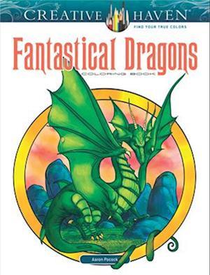 Bog, hardback Creative Haven Fantastical Dragons Coloring Book af Aaron Pocock