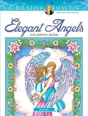 Bog, hardback Creative Haven Angels Coloring Book af Marty Noble