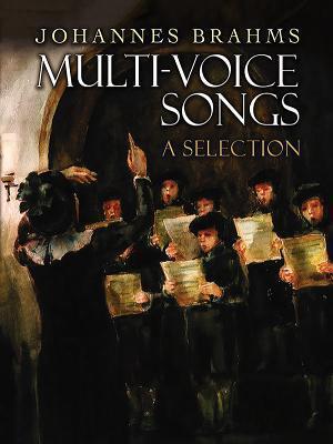 Bog, hardback Multi Voice Songs Without Accompaniment af Johannes Brahms