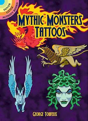 Bog, paperback Mythic Monsters Tattoos af George Toufexis