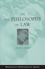 On the Philosophy of Law af David Reidy