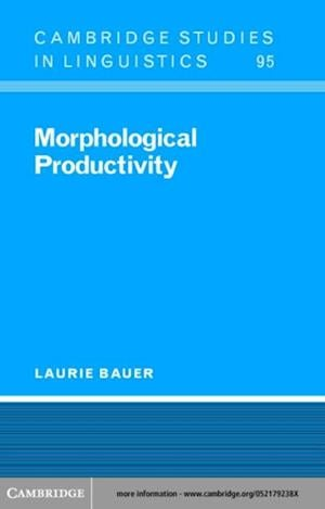 Morphological Productivity af Bauer
