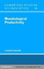 Morphological Productivity af Bauer