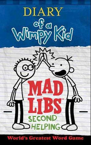 Bog, paperback Diary of a Wimpy Kid Mad Libs af Patrick Kinney
