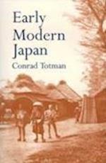 Early Modern Japan af Conrad Totman, Canrad Tatman