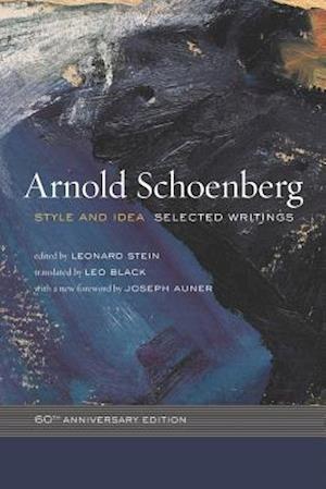 Bog, paperback Style and Idea af Arnold Schoenberg