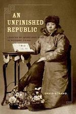 An Unfinished Republic af David Strand