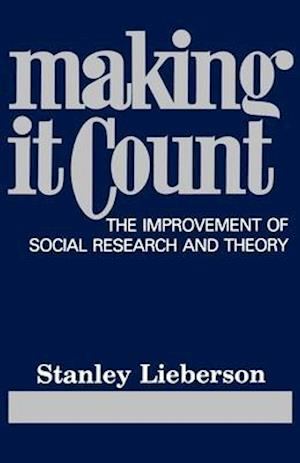 Making It Count af Stanley Lieberson