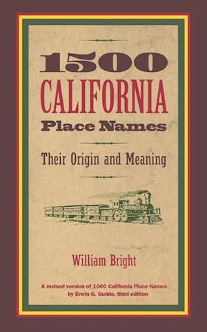 1500 California Place Names af William Bright