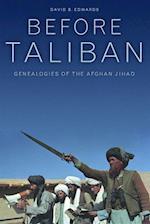 Before Taliban af David B. Edwards