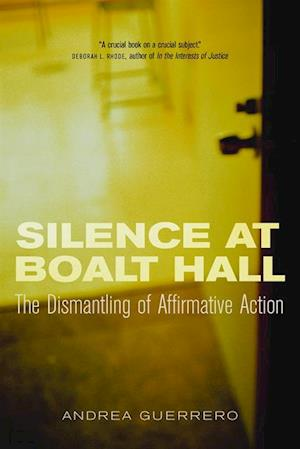 Silence at Boalt Hall af Andrea Guerrero