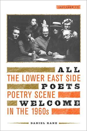 All Poets Welcome af Daniel Kane