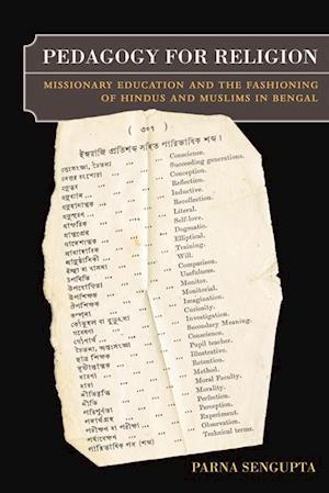 Pedagogy for Religion af Parna Sengupta
