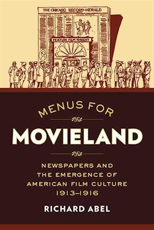 Menus for Movieland af Richard Abel
