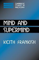 Mind and Supermind af Keith Frankish