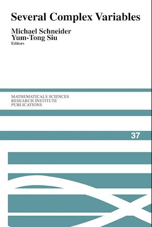 Several Complex Variables af Michael Schneider, Yum Tong Siu