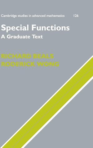 Special Functions af Roderick Wong, Richard Beals