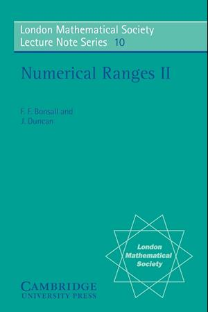 Numerical Ranges II af F F Bonsall, John Duncan