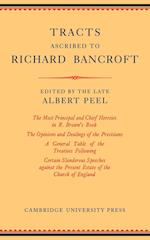 Tracts Ascribed to Richard Bancroft af Albert Peel