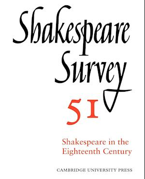 Shakespeare Survey af Margreta De Grazia, Inga Stina Ewbank, Michael Dobson