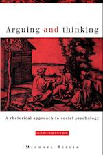 Arguing and Thinking af Michael Billig