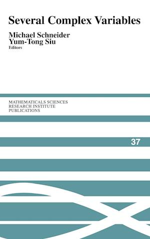 Several Complex Variables af Michael Schneider, Silvio Levy, Yum Tong Siu