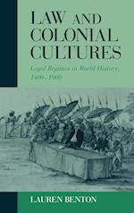 Law and Colonial Cultures af Edmund Burke III, Philip D Curtin, Lauren Benton