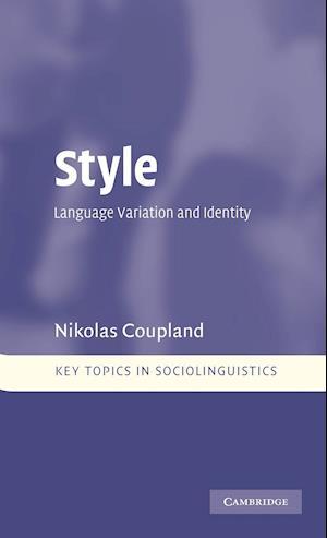 Style af Nikolas Coupland