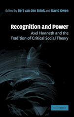 Recognition and Power af Bert van den Brink, David Owen