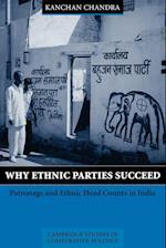 Why Ethnic Parties Succeed af Peter Hall, Ellen Comisso, Robert H Bates