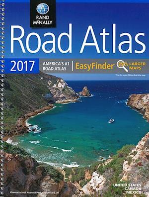 Rand McMally 2017 Road Atlas Easy Finder US Canada Mex af Rand McNally