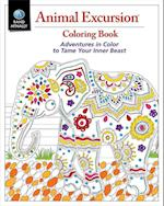 Animal Excursions Coloring Book