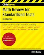 CliffsNotes Math Review for Standardized Tests (Cliffsnotes)