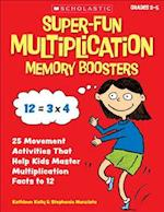 Super-Fun Multiplication Memory Boosters af Kathleen Kelly