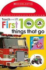 Touch and Lift First 100 Things That Go (Scholastic Early Learners, nr. 2)