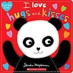 I Love Hugs and Kisses (Heart felt Books)