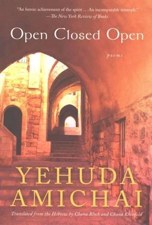 Open Closed Open af Yehuda Amichai