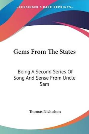 Gems from the States af Thomas Nicholson