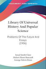 Library of Universal History and Popular Science af Isreal Smith Clare