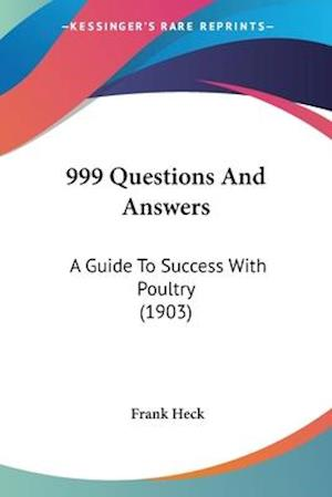 999 Questions and Answers af Frank Heck