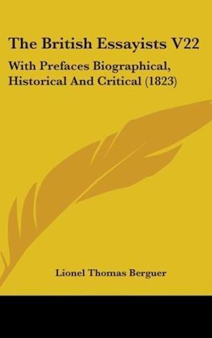 The British Essayists V22 af Lionel Thomas Berguer