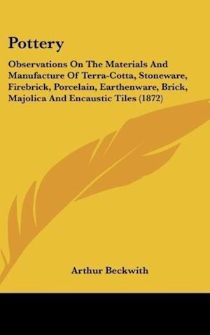 Pottery af Arthur Beckwith