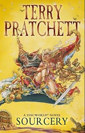 Bog, paperback Sourcery af Terry Pratchett